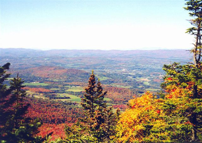 Fall Foliage in Burke, Vermont